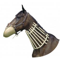 Collier de bois pour chevaux en soins