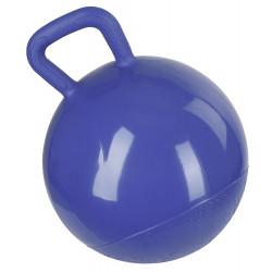 Balle à jouer pour cheval bleu