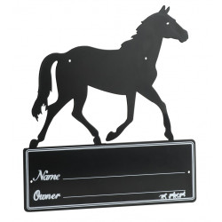 "Plaque de box "" cheval """