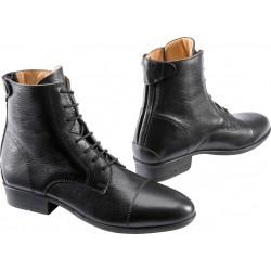 """Boots cuir grainé """" sobriété """""""