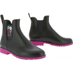 "Boots synthétiques ""Pony love"""