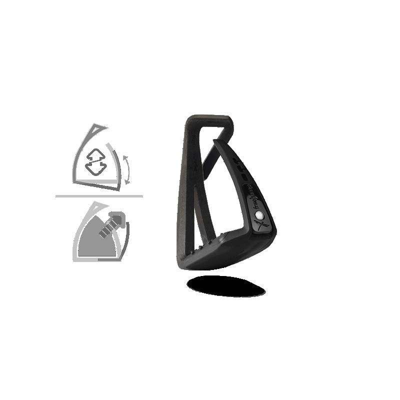 Étriers de sécurité Freejump Softup Lite Noir