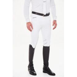 Harcour - Pantalon Homme Costa Fix System Blanc