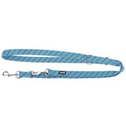 Laisse longue Kerbl pour chien 200 cm bleu