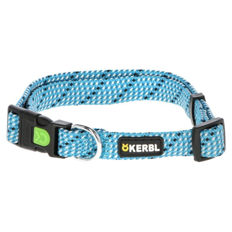 Collier Colorado pour chien bleu