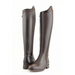 Bottes Cartujana lisses marron