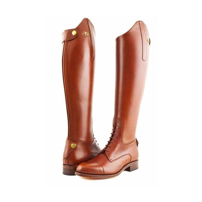 Bottes d'équitation SANLUCAR marron