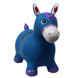 Jouet Jumpy horse bleu
