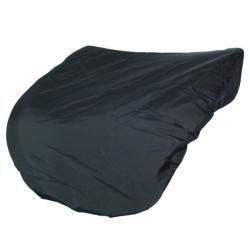 Protège selle en nylon noir