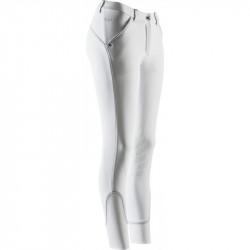 """Equithème - Pantalon haute exigence """"Thermic Cristal"""" blanc"""