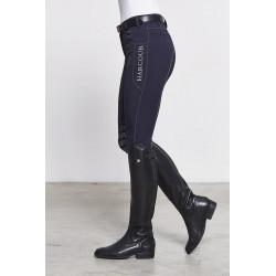 Harcour - Pantalon d'équitation California pour femme marine