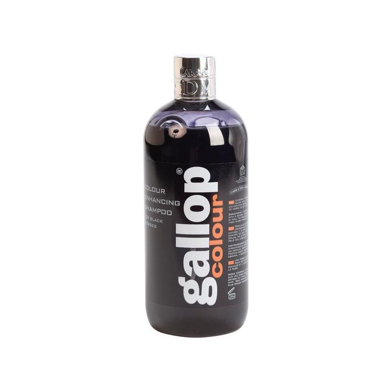 Shampooing GALLOP spécial chevaux noirs - 500ml