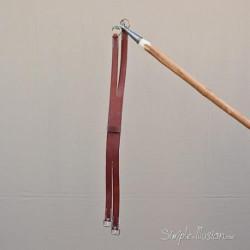 Sangle de selle Camargue en cuir 95 cm