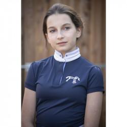 Polo de concours Madrid Junior Marine - Pénélope Leprévost
