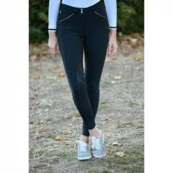 Pantalon d'équitation Point Sellier Junior noir - Pénélope Leprévost