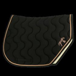 Tapis de selle Sport noir - Pénélope Leprévost
