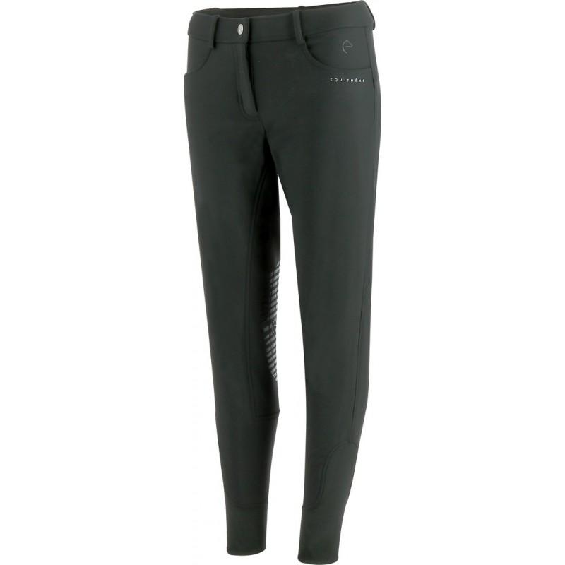 Equithème - Pantalon d'hiver Chamonix doublé polaire noir