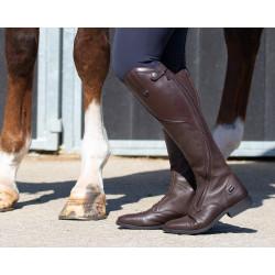 Bottes d'équitation Tamar Marron - QHP