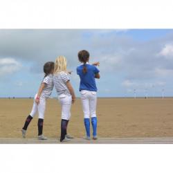 Pantalon d'équitation Point Sellier blanc enfant - Pénélope Leprévost