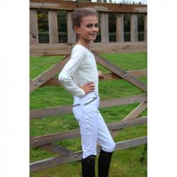 Pantalon d'équitation FUN Enfant - Pénélope Leprévost